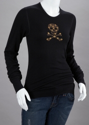 Smilin\' Skull - Studded Shirt